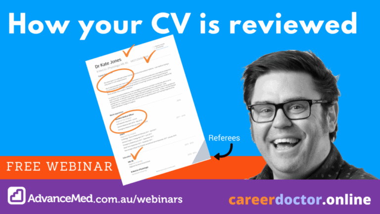 How does the Panel Review your Medical CV [Video]