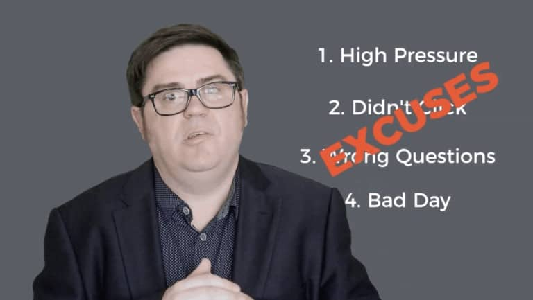Interview Failure. How To Not Suck At Job Interviews: 6 Success Tips