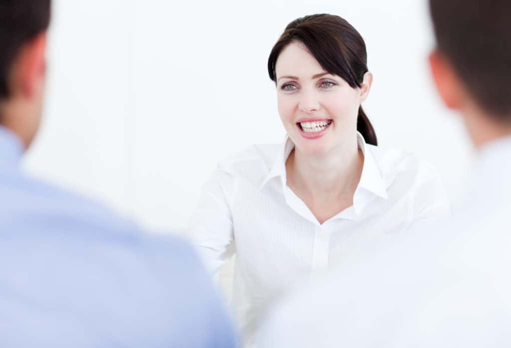 mistake in a job interview